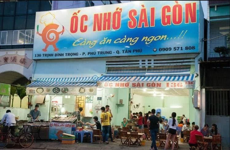 Trải nghiệm khi đến ốc nhớ Sài Gòn