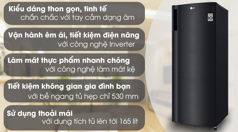 Tủ đông lạnh LG GN F304WB