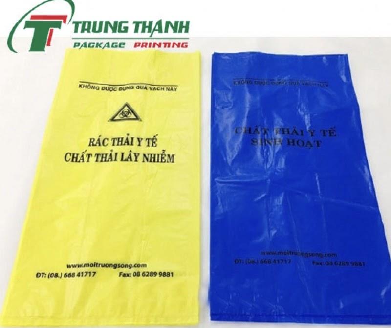 Túi đựng rác thải y tế Trung Thành