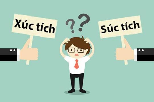Xúc tích hay súc tích? Từ nào mới có ý nghĩa và đúng chính tả tiếng Việt