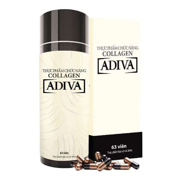 vien uong Collagen Adiva