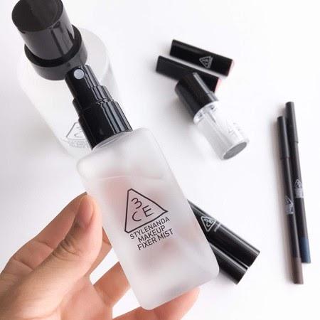 Xịt Khóa Nền 3CE Makeup Fixer Mist