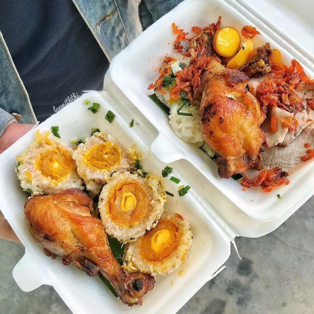 Xôi gà Sài Gòn- hương vị độc đáo