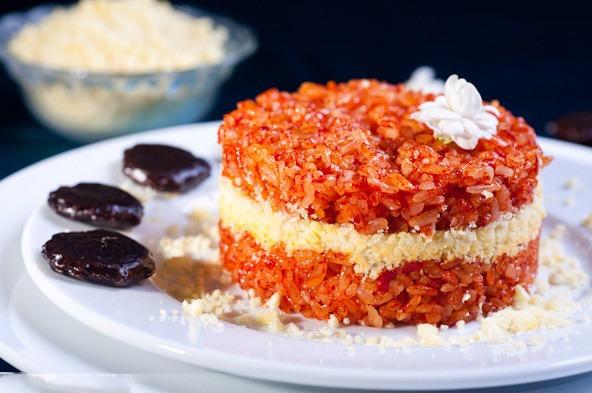Xôi gấc – món ăn mang đậm hương vị truyền thống