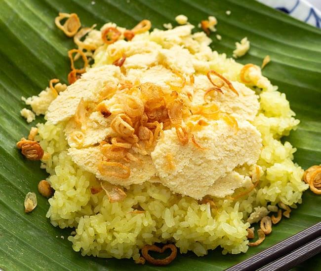 Xôi xéo- đặc trưng ẩm thực Hà Nội