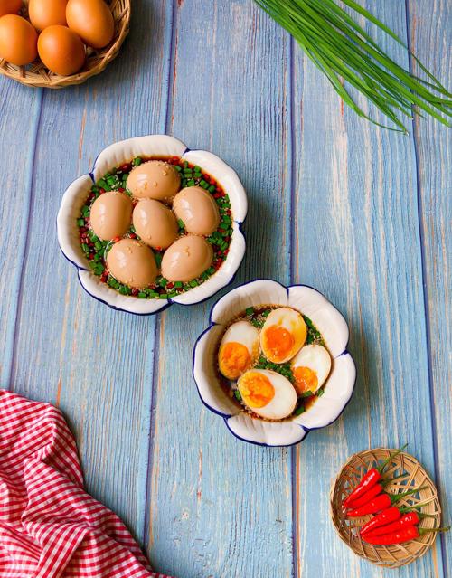 Yêu cầu khi hoàn thành món trứng ngâm tương Hàn Quốc
