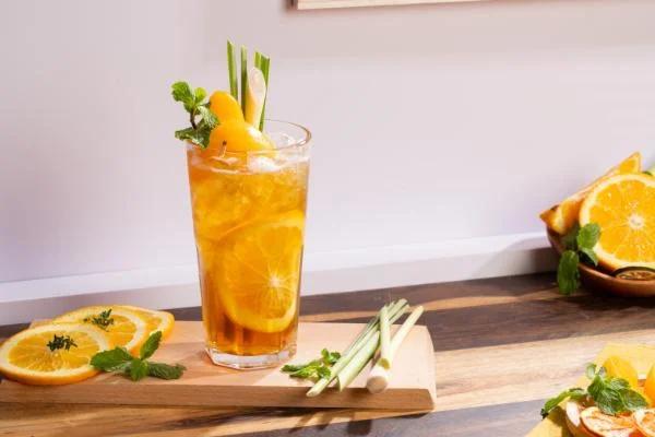 Yêu cầu sau khi hoàn thành món trà đào cam sả